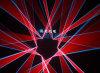 DMX Ilda Laser Performance Laser Show RGB 6W Laser Light