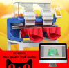 10 Years Service! ! ! Holiauma Computerized 2/Double/Two Head 15 Needles Embroidery Machine Hat/T-Shirt/Flat Machine Factory