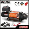 12V 9500lbs 4X4 Synthetic Rope Electric Winch with Automatic Brake