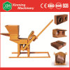 Light Weight Qmr2-40 Clay Soil Earth Interlocking Block Making Machine with Small Investment