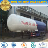 ASME 50000L Gas Tanker Trailer 3 Axles 50 Cbm M3 LPG Tanker