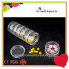 Transparent 7 Layers Food Grade PP Round Capsule Pill Container