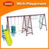 Children Baby Round Outdoor Reclining Swing Set (2301C)