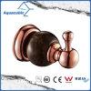Chromed Single Robe Hook in Gold Rose (AA6511)