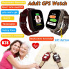 Elderly Health Smart Watch Tracking GPS with Multiple Accurate Positioning D28