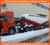 Tri-Axle V-Type Bulk Concrete/Cement Tanker Semi Trailer
