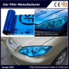 Self-Adhesive Deep Blue Color Car Headlight Film Car Tint Vinyl Films 30cmx9m