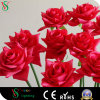 Artificial Single Steam Rose Flower Light for Wedding Decoration