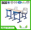 Modern School Furniture Desk and Plastic Chair (SF-29S)