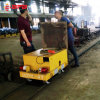 Foundry Plant Electric Industrial Material Handling Trolley on Rails