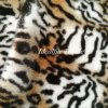 Soft Leopard Print Faux Rabbit Fur Printed Fabric