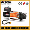 12 Volt 12500lbs Truck Towing Winch with Synthetic Rope