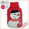 Christmas Design Hot Water Bottle Cover