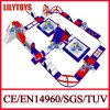 Giant Blue and Red Inflatable Water Floating Games Slides for Water Park Games (Lilytoys-WP42)