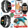 4G Lte New Developed Watch GPS Tracker with Thermometer SpO2 Hr Bpm