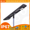 Durable 10m 110W LED Solar Energy Saving Lamp, Battery Intergrated Solar Lighting System