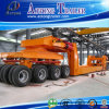 Heavy Machine and Heavy Cargo Transport 50-120 Tons Low Bed Semi Trailer