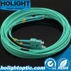 Optical Fiber Patch Cord Cabling System Cables LC to Sc Dx Om3 3.0mm