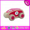 2015 Red Mini Wooden Car Development Toys, Wooden Toy Development Car for Children, Top Sale Wooden Development Car Toys W04A114