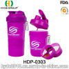 2017 Christmas 400ml BPA Free PP Plastic Shaker Bottle