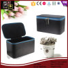 Promotional Handmade Luxury Leather Jewelry Box Gift Box (6281)