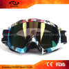 Vintage Water Transfer Printing TPU Frame PC Anti Fog Lens UV400 Motocross Skiing Goggles