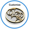 Customized Epoxy Resin Logo Dome Crystal Label Stickers