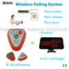 Wireless Waiter Call System with Watch Pager Table Bell Ring