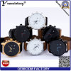 Yxl-090 New Design Good Quality Men′s Watch Luxury Genuine Leather Men Watch Wrist 3ATM Water Resistant 6 Hands Man Watch