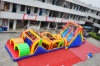 PVC Tarpaulin Inflatable Obstacle Slide Combo