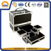 Hot-Sale Cosmetic Beauty Box with Aluminum Frame (HB-1203)