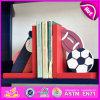 2015 Brand New Wooden Ball Bookend, Hot Sale Wood Ball Bookend, Lovely Bookend Ball Wooden W08d048