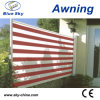 Outdoor Aluminium Retractable Office Side Screen Awning