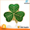 Manufacturer Hot Sale Irish Lucky Shamrock Lapel Pins