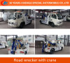 4*2 Tow Crane Road Wrecker Rescue Wrecker Truck with Crane