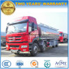 25000 Liters FAW Fuel Bowser 25 Tons Aluminium Alloy Fuel Tank Truck