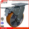 "Total Brake Heavy Duty Swivel Trolley 6"" Caster Wheels"