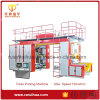 4 Color Chamber Doctor Blades Printing Machine with High Speed
