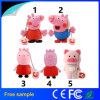 Promotion Gift Custom Cartoon Peppa Pig USB Flash Drive 4GB