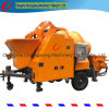 Hot Diesel Engine Mini Stationary Lightweight Cement Mixer Pump Hydraulic Malaysia Foam Trailer Concrete Pump