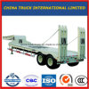 3 Axle 50t-80t Low Bed/Lowboy Semi Truck Trailer with Column