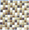 Stone Mix Crystal Glass Mosaic Tile (HGM229)