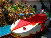 New Design Amusement Battery Ride Cartoon Racing Car