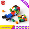 Plastic Educational Puzzle Toy Linking Cubes for 3+ Years