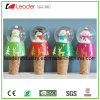Water Globe Ball Resin Christmas Snow Globe Bottle Open for Decoration Gifts