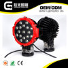 IP67 Red Black Aluminium Housing 51W LED Driving Lights