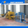 Wante Machinery Qt4-25 Hydraulic Pressed Fully Automatic Hollow/Solid/Interlocking/Concrete Brick Machine Price for Sale