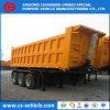 Tri-Axle Rear 40m3 Tipper Dumper Trailer Hydraulic Lift Dump Trailer