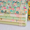 Soft Cotton Fabric with Printed or Plain Dyed for Bedsheet Fabric