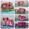 Inflatable Fire Fighting Truck Combo, Inflatable Jumping Bouncer for Kids and Adults B3092